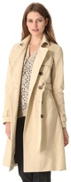 Gryphon Timeless Coat with Leather Collar