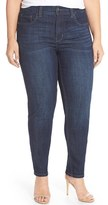Melissa McCarthy Plus Size Women's Stretch Straight Leg Jeans