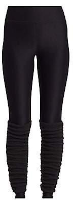 Terez Women's Fleece Leg-Warmer Leggings