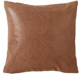 Donna Karan Theory Leather Accent Pillow