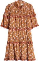 Etoile Isabel Marant Maiwenn Printed Cotton Dress