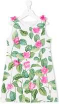 Love Made Love hand-sewn flower dress