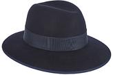 Christys' Madison Fedora Hat, Navy