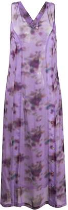 Frankie Morello Cross Back Long Dress