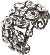 Crystal Stone Cuff by Kenneth Jay Lane