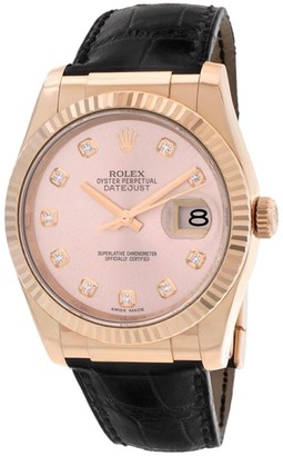 Rolex 2010 pre-owned Datejust 36mm
