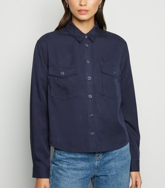 New Look Long Sleeve Utility Shirt