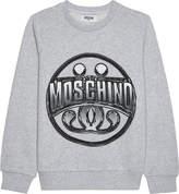 Moschino Logo cotton jumper 4-14 years