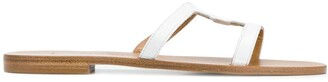 Elena Makri Cut-Out Detail Sandals