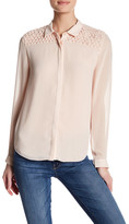The Kooples Textured Long Sleeve Shirt