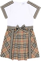 Thumbnail for your product : Burberry Children Vintage Check cotton dress