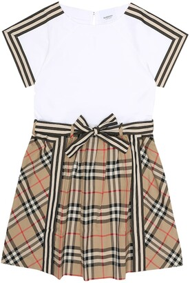 Burberry Children Vintage Check cotton dress