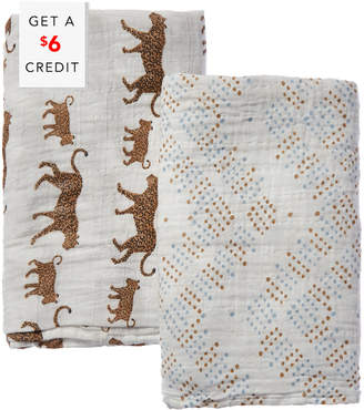 Aden Anais Aden + Anais Set Of 2 Classic Swaddle With $6 Credit