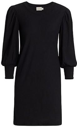 Nation Ltd. Loren Puff-Sleeve Shift Dress