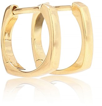 ALIITA Aro B Medio 9kt gold hoop earrings