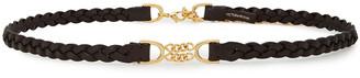 Victoria Beckham Braided Leather Belt