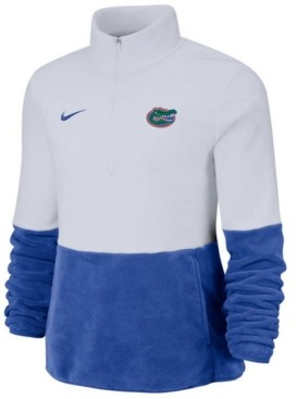 Nike Women's Florida Gators Therma Long Sleeve Quarter-Zip Pullover