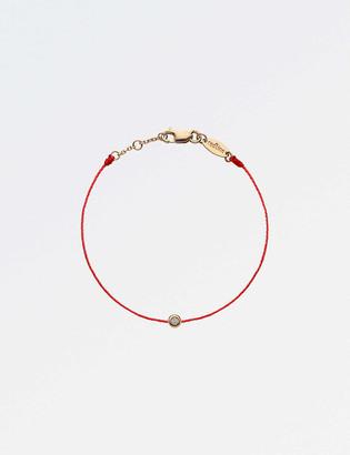The Alkemistry RedLine Minimaliste 18ct rose-gold and diamond bracelet 4-7 years