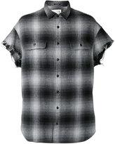 R 13 short sleeve shirt - unisex - Silk/Cotton - S