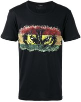 Balmain wolf eye T-shirt - men - Cotton - S