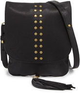 Cynthia Vincent Ember Leather Crossbody Bag, Black