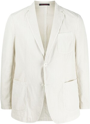 The Gigi deep V-neck blazer