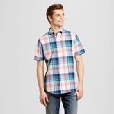Merona Men's Short Sleeve Plaid Button Down Shirt