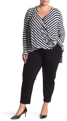 Vero Moda Eva Pleated Pull-On Ankle Crop Pants (Plus Size)