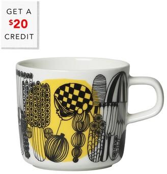 Marimekko Set Of 6 Coffee Cups With $20 Credit