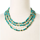 Rachel Reinhardt Turquoise and Moonstone Necklace