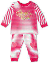 Sprout NEW Girls Pajama Set Rose Red