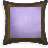 Jonathan Adler Lavender Siam Silk Throw Pillow