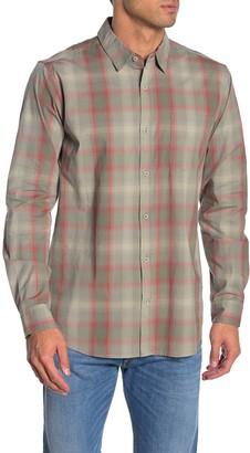 Hurley Grady Plaid Classic Fit Flannel Shirt