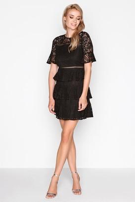 Girls On Film Black Lace Dress