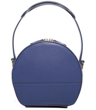 Rasha Ladhari Blue Round Bag