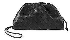 Bottega Veneta Women's Small The Pouch Leather Clutch