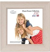 Inov-8 Inov8 British Made Traditional Picture/Photo Frame, Square 5x5-inch, Small Washed White