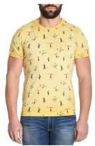 BOB Strollers Men's Yellow Cotton T-shirt.
