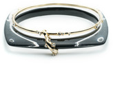 Alexis Bittar Geometric Linked Bangle Set