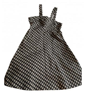 ALEXACHUNG Alexa Chung Grey Cotton Dresses