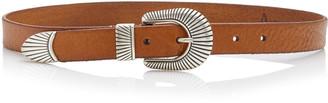 Andersons Western Full Grain Leather Belt