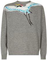Kenzo Bird Patch Sweater
