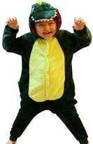 iSZEYU Dinosaur Kids Onesie Pajamas for Boys Girls Onsie Footed Onesy Sleepsuit Costume