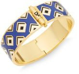 Diane von Furstenberg All the Glitz Gold Bangle Bracelet