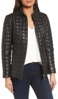 Kate Spade Women's Quilted Leather Jacket