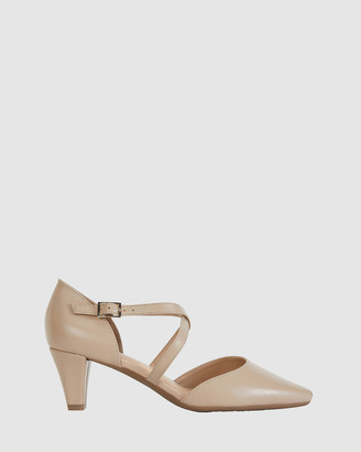 Easy Steps - Women's Nude Mid-low heels - Adison - Size One Size, 7 at The Iconic