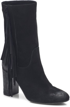 Free People Wild Rose Slouch Fringe Boot