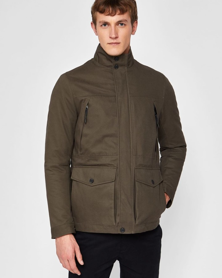 Ted Baker Quilted Cotton 2-in-1 Field Jacket