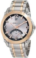 Pierre Petit Men's Serie Le Mans stainless-steel band watch.