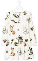 MonnaLisa animal print dress